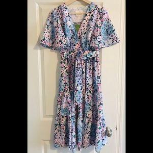 Kate Spade Daisy Garden Flutter Dress